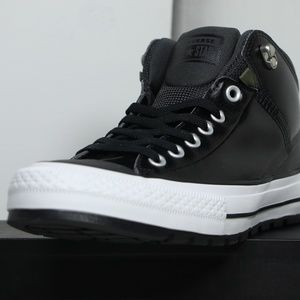 Converse Shoes - Converse Black Leather All Star Insulation Boots